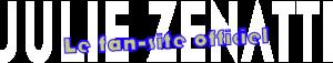 Logo 'Julie Zenatti, le fan-site officiel'