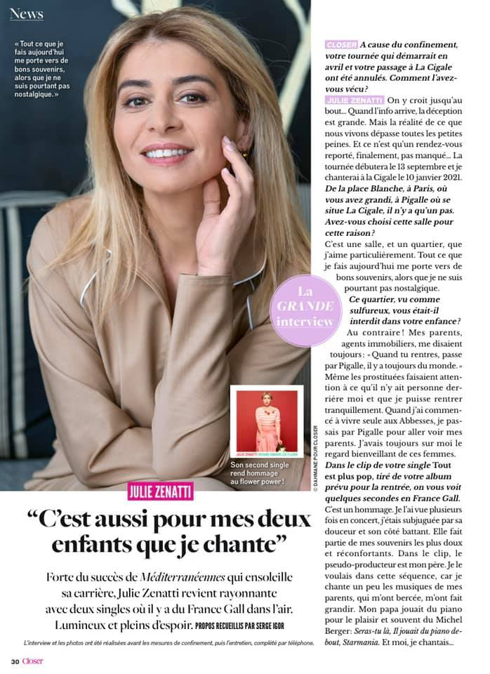 Interview - partie 1 (Closer - 09/05/2020)