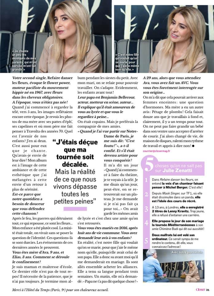 Interview - partie 2 (Closer - 09/05/2020)