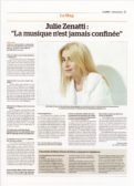 Interview Julie (La Manche Libre - 02/05/2020)