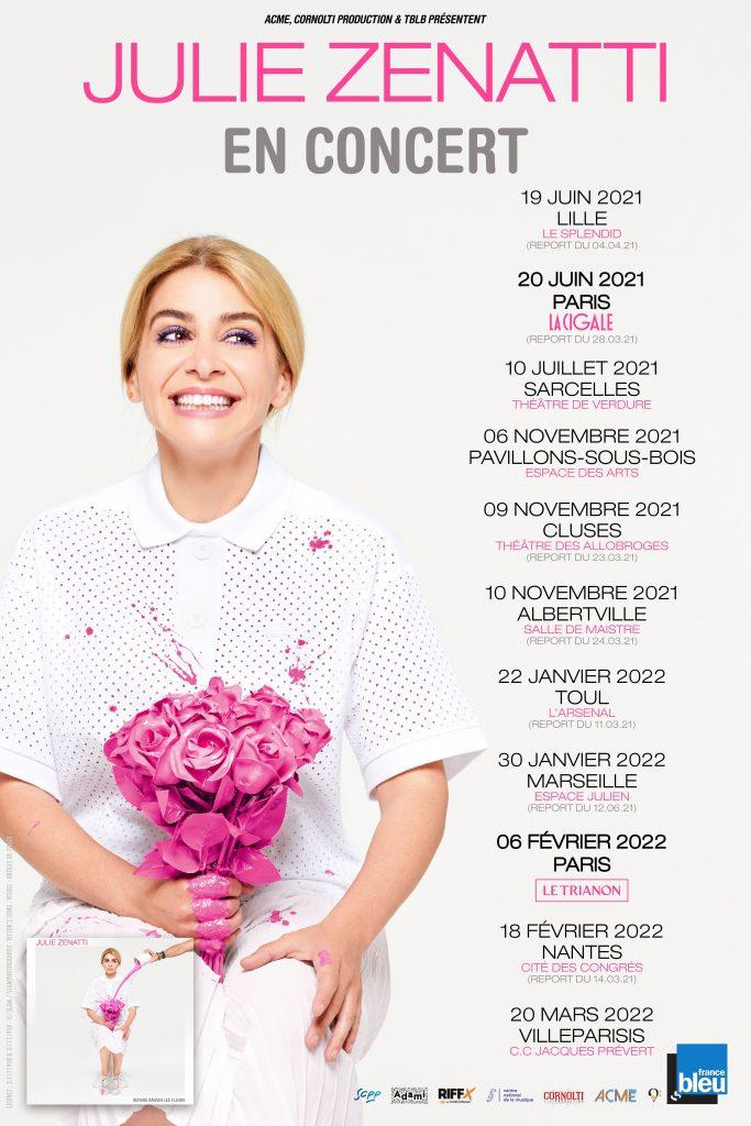 Nouvelles dates concerts