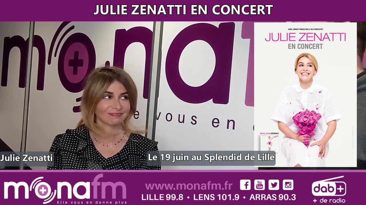 Julie Zenatti (Mona FM - 20/05/2021)